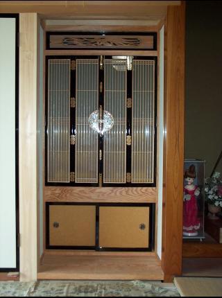 和風木製建具ドア2