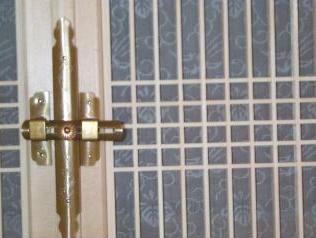 和風木製建具ドア5