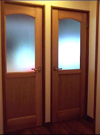 洋風木製建具ドア2