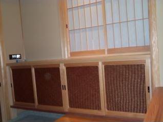 和風木製建具ドア6