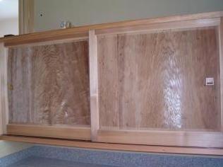 和風木製建具ドア7