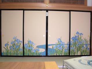 和風木製建具ドア12
