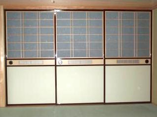 和風木製建具ドア13
