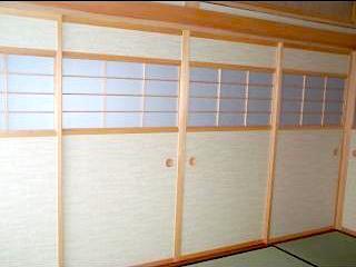 和風木製建具ドア14