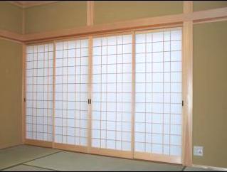 和風木製建具ドア17