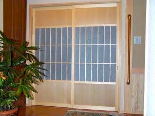 和風木製建具ドア18