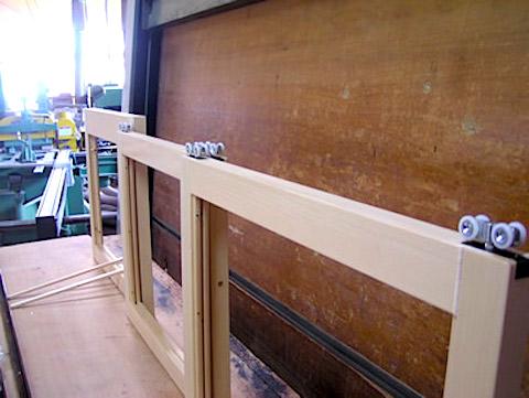 エッジングガラス工芸ドア2
