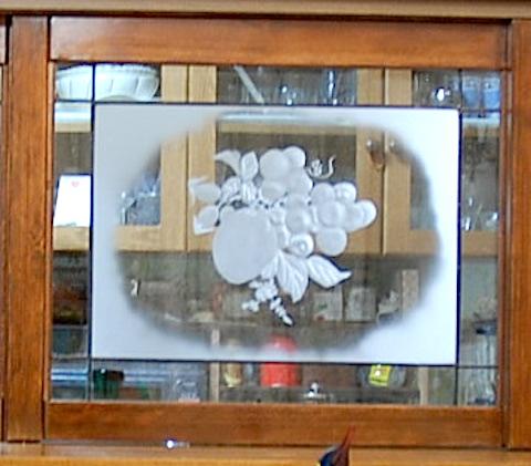 エッジングガラス工芸ドア3