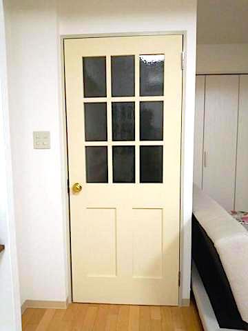 框格子ドア