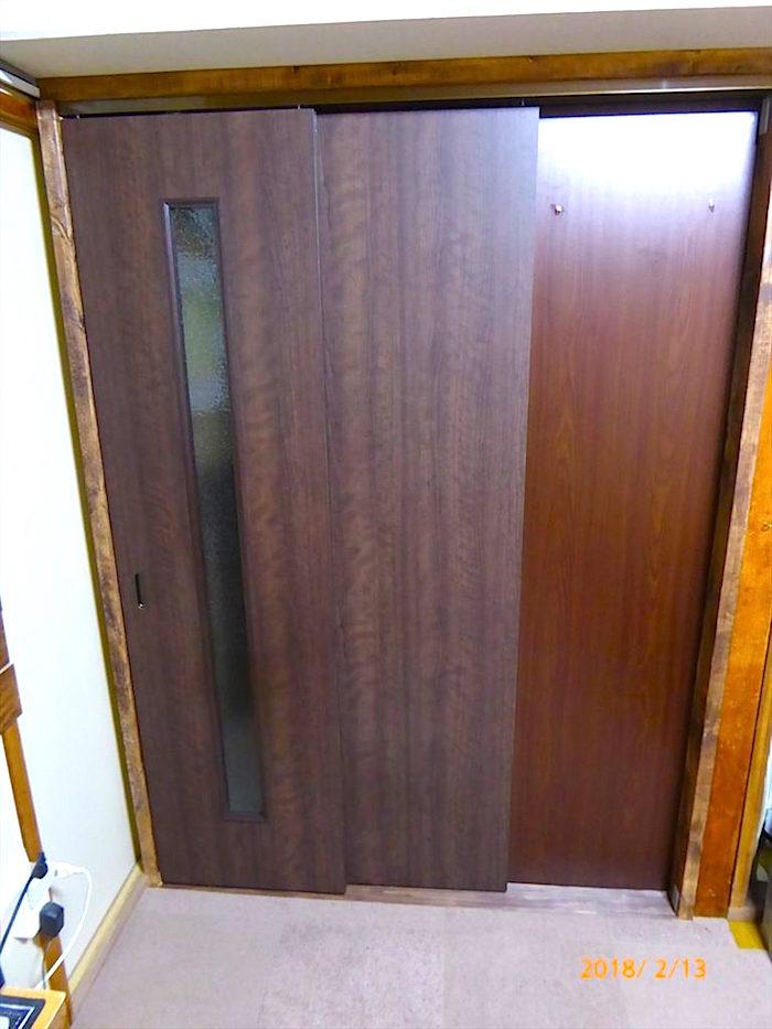 アトムの連動引き戸ドア