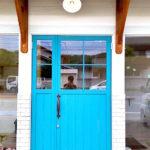 おしゃれな木製ドア